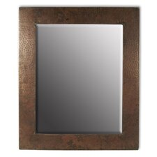 Sedona Rectangle Hand Hammered Copper Mirror