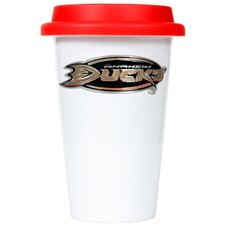 NHL 12oz Double Wall Tumbler with Lid