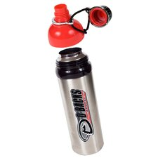 MLB 24oz Colored Stainless Steel Water Bottle Red Lid