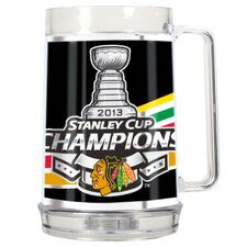 Blackhawks 2013 NHL Stanley Cup Tankard with Metallic Wrap