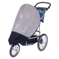 InStep and Schwinn Safari TT and Suburban Safari, Mall Cruiser Single Stroller Sun, Wind and Insect Cover