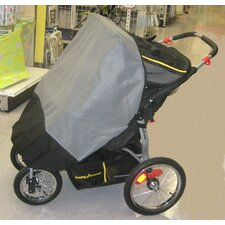 Baby Trend Navigator Double Swivel Wheel Jogger Sun, Wind and Insect Cover