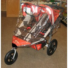 B.O.B Revolution SE 2011 / Stroller Strides Fitness Duallie Stroller Rain and Wind