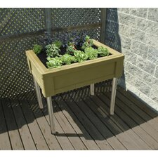 Garden Table with Fixed Legs