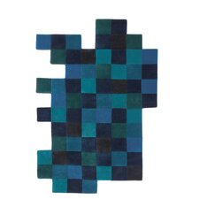 Do-Lo-Rez Blue Rug