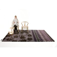 Folk Purple Rug