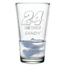 Nascar Individual 16 oz. Mixing Glass, Jeff Gordon with personalization