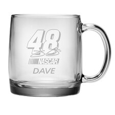 Nascar Jimmie Johnson 13 oz. Coffee Mug with Personalization