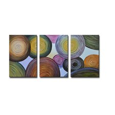 Radiance Essence Canvas Art (Set of 3)