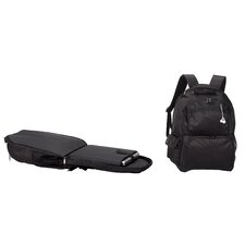 Travelwell Scan Express Computer Backpack in Black