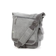 Travelwell The Rocky Mountain Vertical Messenger Bag in Grey