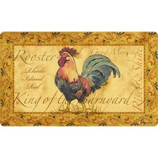 Cushion Comfort Country Rooster Mat