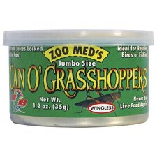 Can O Grasshoppers Pet Food