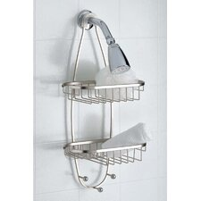 Shower Caddy with Hooks