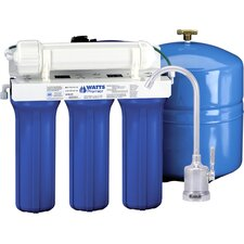 Five Stage EPA/ETV Verified Reverse Osmosis System with Monitor Faucet