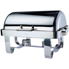 """Save on Additional Items""-Odin Oblong Roll Top Chafing Dish with Stainless Steel Legs"