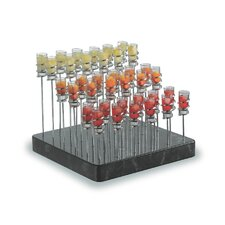 """Save on Additional Items""-Treasure Stand Set with Base, Spiral Stands and Shooter Glasses"