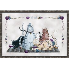 Home Accents Granny's Cats Novelty Rug