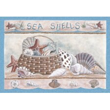 Home Accents Seashells Novelty Rug