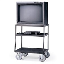 "44"" High Wide-Body UL Listed TV Cart"