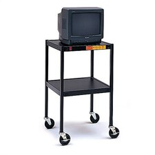 "34"" High UL Listed Audio Visual Cart"