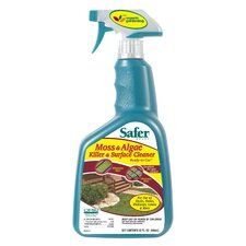 Moss and Algae Killer and Surface Cleaner