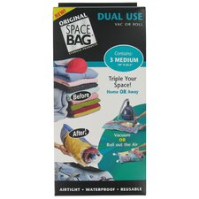 Medium Dual Use Space Bag (Set of 3)