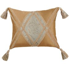 Savannah Synthetic Pillow with Braid and Tassel