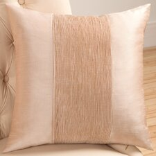 Organic Decorative Pillow with Self Cord