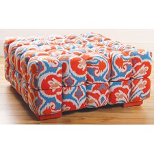 Ikat Cotton/Polyster Bedroom Bench
