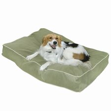 Buster Pillow Dog Bed in Moss