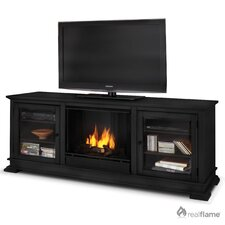 "Hudson 68"" Ventless TV Stand with Gel Fuel Fireplace"