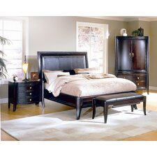 Unique  Brownstone Furniture Lisbon Queen Sleigh Bedroom Collection