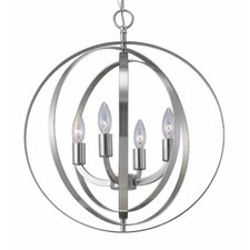 Meridian 4 Light Chandelier