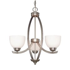 KYM 3 Light Chandelier
