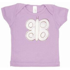 Butterfly Lap T Shirt in Lavender