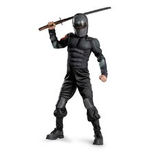 Snake Eyes Classic Muscle Kids Costume