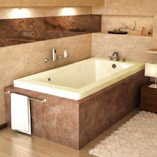 "Guadeloupe 72"" x 23"" Rectangular Air Tub"