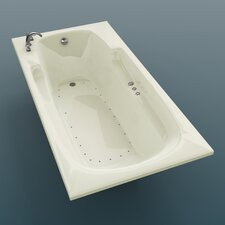 "Anguilla 60"" x 23"" Rectangular Bathtub"