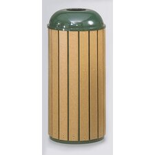 Regent 50 Series 15 Gallon Round Top Waste Receptacle