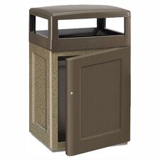 Keystone 48 Gal. Concrete Front Door Waste Receptacle