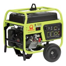7200 Watt Portable Gas Generator with Recoil/Electric Start