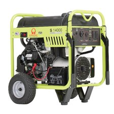 14000 Watt Portable Gas Generator with Recoil/Electric Start