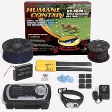 Humane Contain Electronic Fence Ultra Value Kit