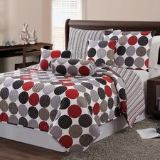 Orbit 6 Piece Quilt Set
