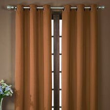 Neil Grommet Blackout Curtain Single Panel