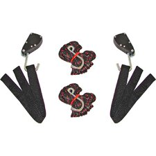 Sentry Ratchet Kayak and Canoe Bow and Stern Tie Downs