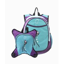 O3 Innsbruck Butterfly Diaper Bag Backpack with Detachable Lunch Cooler