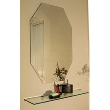 Regency Octagon Frameless Mirror