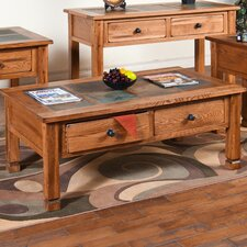 Sedona Coffee Table with Slate Top